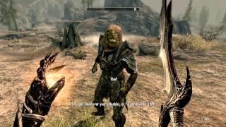 Skyrim - Argonian Thief (RANDOM ENCOUNTER)