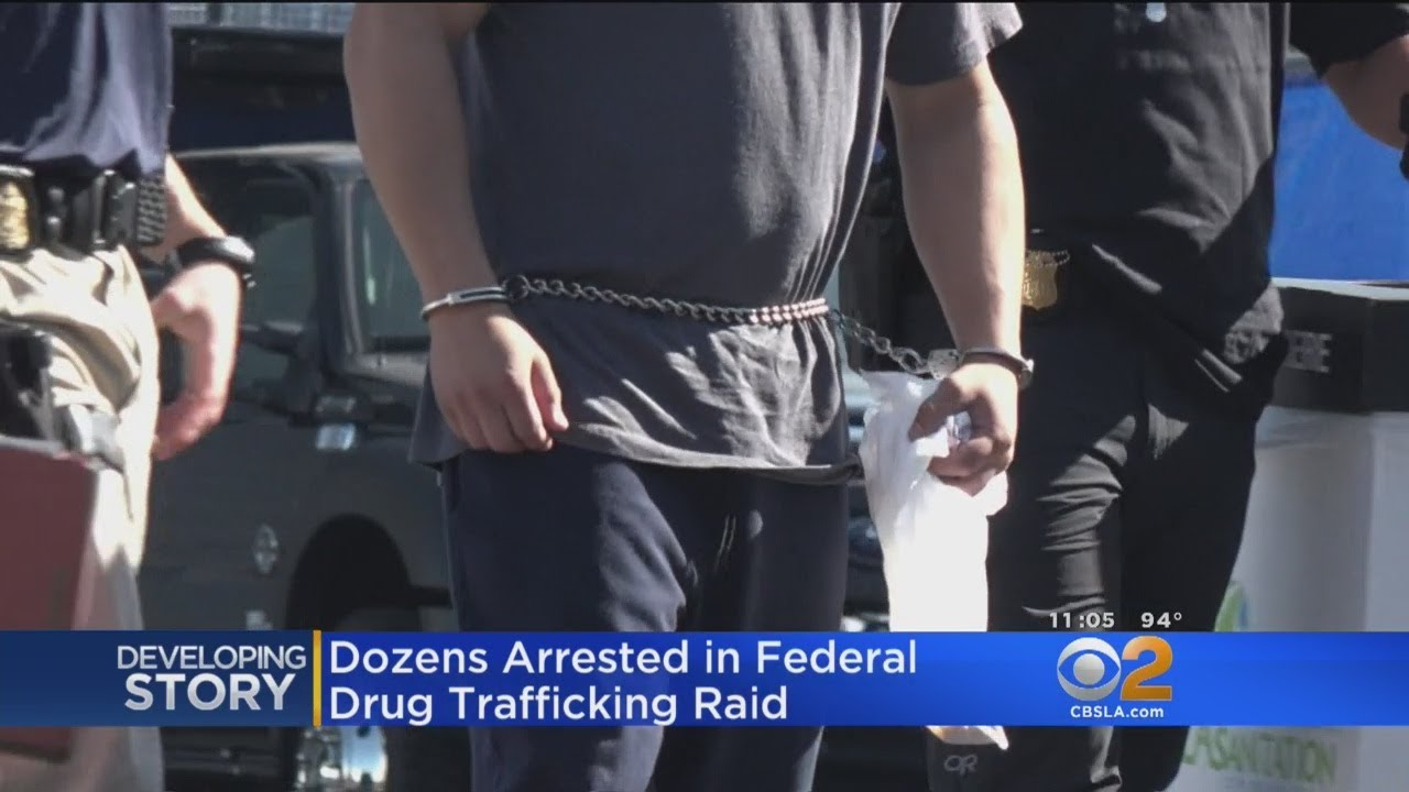 Feds Seize 1 Ton Of Cocaine In Major Drug Bust