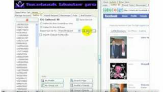 Facebook Blaster Pro Demo. How to add and message hundreds of people p/day on Facebook.
