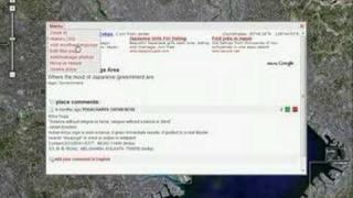 GoogleマップでWEB2.0型Wikipediaを提供する「WikiMapia」その2
