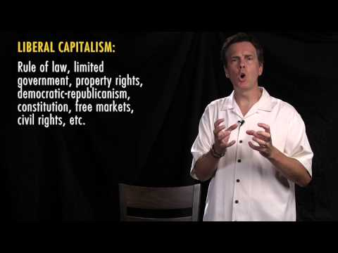 1. Liberal capitalism increases freedom