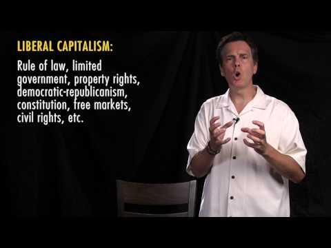 1. Liberal capitalism increases freedom