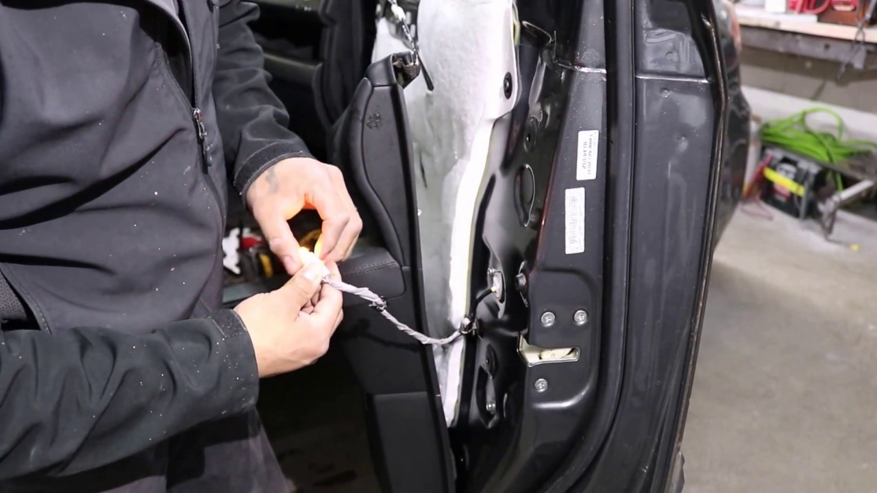 How To Remove Door Panel Honda Pilot 09 Thru 15 Youtube