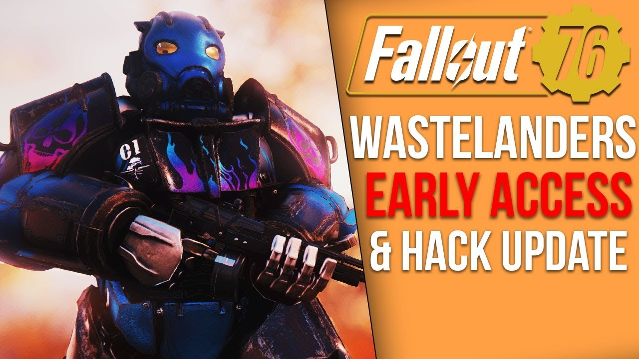 Fallout 76 News - New Hack Updates, Wastelanders Early Access Expands, Battle Royale Future? thumbnail