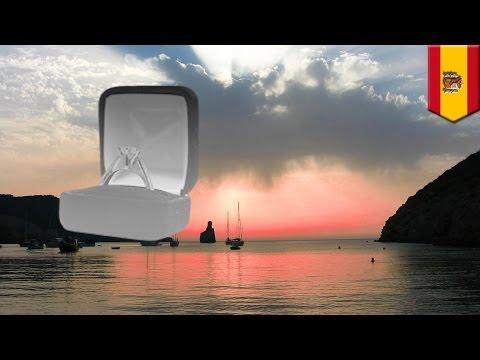 Wedding proposal fail: Woman falls to her death off Ibiza cliff while celebrating wedding proposal