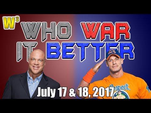 Kurt Angle's Secret Revealed! John Cena Buries Battleground! | Who War It Better