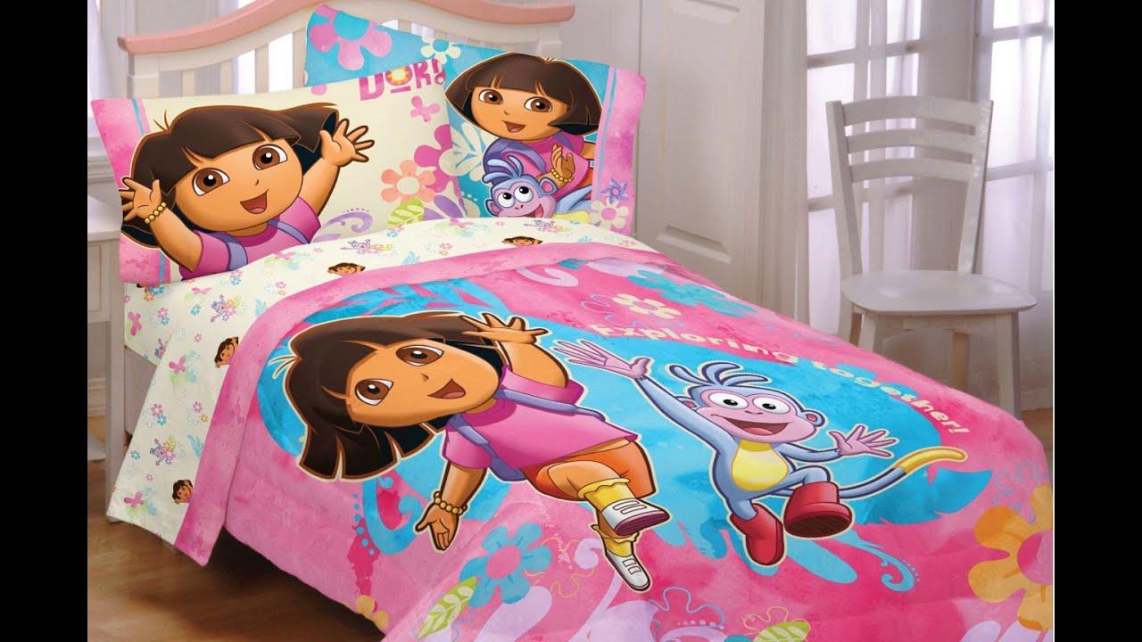 Awesome Dora The Explorer Bedroom Set Part - 1: Dora Bedroom Set - YouTube