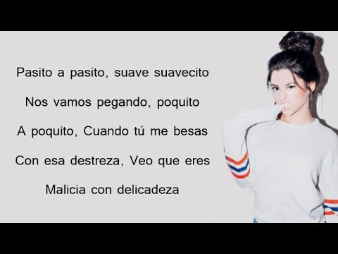 DESPACITO - Luis Fonsi & Daddy Yankee ft. Justin Bieber // Talia Martinez Cover (Lyrics)