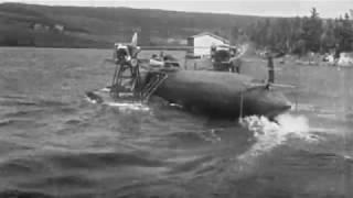 The world's fastest boat in 1920: Alexander Graham Bell's hydrodrome