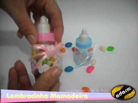 Lembracinha Mamadeira Cha De Bebe Nascimento Youtube