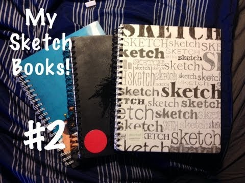 My (Old) Sketch Books   Part 2  