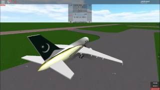 ROBLOX AIRLINER WITH PLACE PIA BEST FLIGHT
