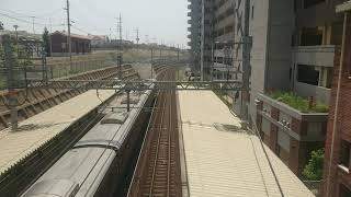 【南海本線】和歌山大学前駅 特急サザン(12000系):和歌山市行