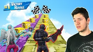 FORTNITE NOWY LUCKY BLOCK CHALLENGE! *Kto Wygra Lucky Block Race?!*
