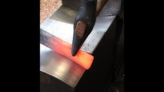 Repurposing old tool for blacksmithing