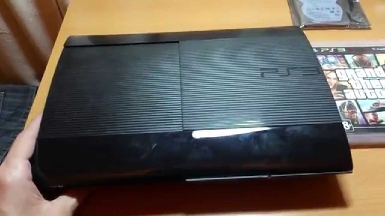 Как поменять жесткий диск в PS4 (HDD или SSD) PRO Hi-Tech - YouTube