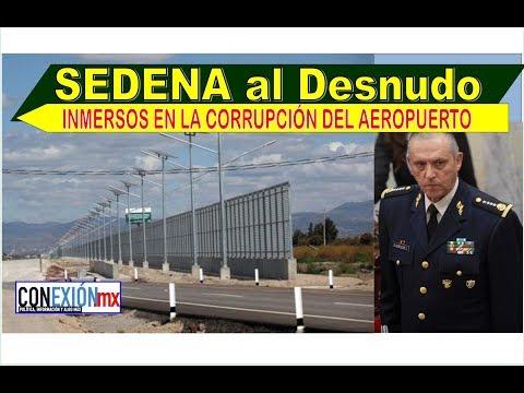Destapan la corrupción de la SEDENA en la barda del  AUEROPUERTO