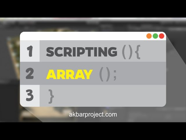 Scripting Unity3D | Array