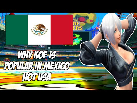Is The King of Fighters Best Game in Mexico  Not USA or Other Countries