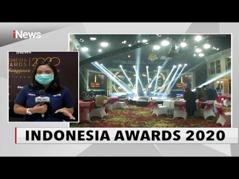 Penganugerahan Penghargaan Indonesia Awards 2020 Digelar Dengan Protokol Kesehatan- INews Sore 07/10