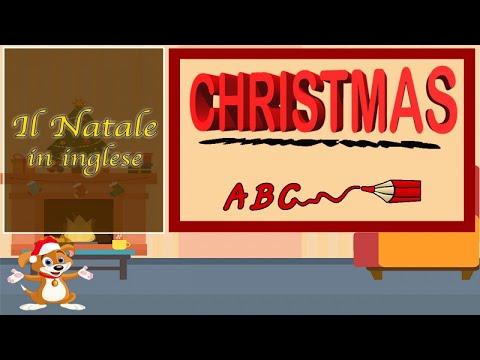 Giocare a Natale: imparare le parole, Natale in inglese video per bambini piccoli.Musiche di Natale