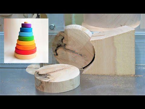 Lifehack/Хитрый способ распила круглой деревянной заготовки | Radugagrad