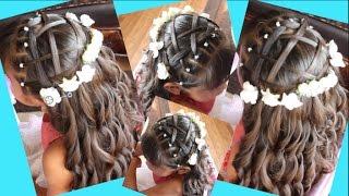 Peinado De Nina Para Presentacion De Iglesia Primera Comunion O