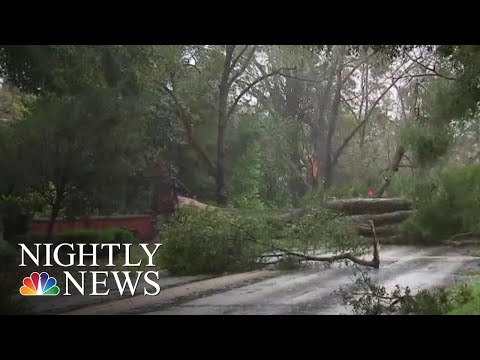 Mother And Infant Killed After Florence's Winds Sent An Uprooted Tree | NBC Nightly News