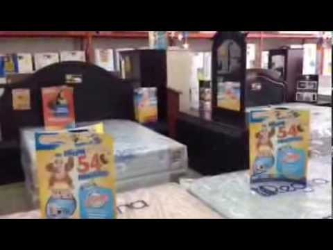 Camas y Muebles para Dormitorio- Almacenes Tropigas Honduras - YouTube
