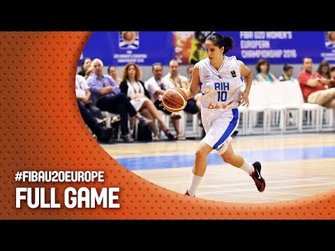 Bosnia and Herzegovina v Slovak Republic - Full Game - FIBA U20 Women's European Championship 2016