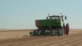 FENDT X3 à la plantation de pommes de terre dans la Marne