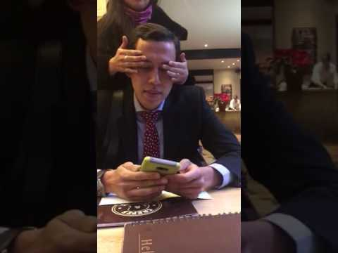 Girlfriend surprises boyfriend after 2 yrs of living a long distance relationship in diff countries