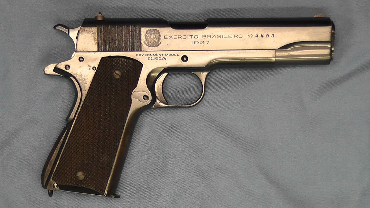 45 40 Brazil And The Colt Government Model 45 Acp Pistol Youtube