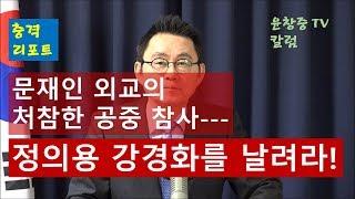 (충력리포트) 문재인 외교의 처참한 공중 참사--정의용, 강경화를 날려라! 윤창중 TV 칼럼(2017.12.20)