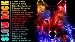 Download 💯 Slow Rock Ballads of The 70s, 80s, 90s - Heart, Scorpions, Metallica, GNR, Bon Jovi, Aerosmith 💯
