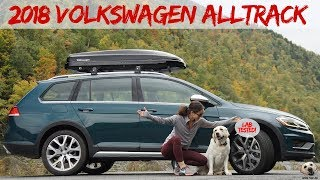 2018 Volkswagen Alltrack: Andie the Lab Review!