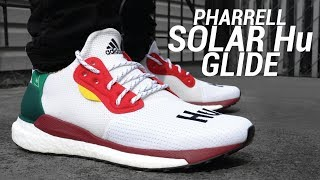 Pharrell x Adidas Solar Hu Glide Review & On Feet