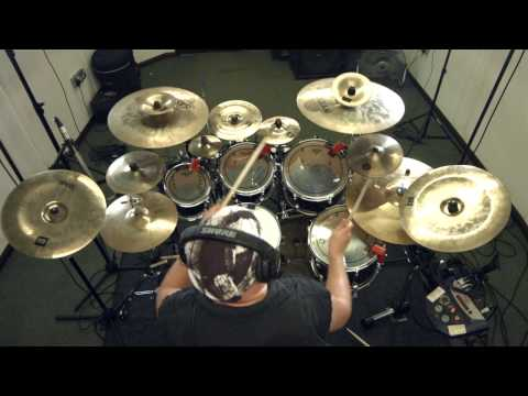 "SYNAPTIK - ""White Circles"" Drum play through PETE LOADES Progressive Metal"