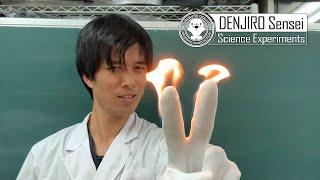 絶対に炎上しない科学マジック!応用したらアレに火をつけても大丈夫??【字幕推奨】/ 米村でんじろう[公式]