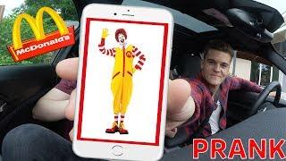 McDonalds PRANK | NICHT SPRECHEN | MITARBEITER KOMMT RAUS