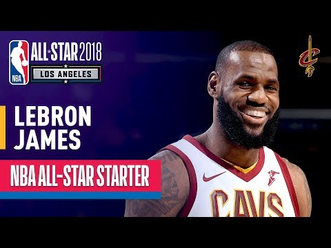 LeBron James 2018 All Star Captain | Best Highlights 2017-2018