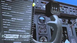 FS2004: EHAM - LOWW (FS Virtual Flights)
