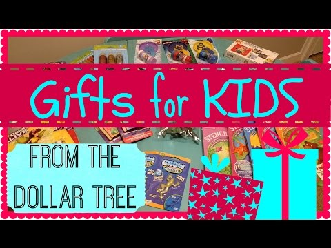 Gifts For Kids: Dollar Tree Haul