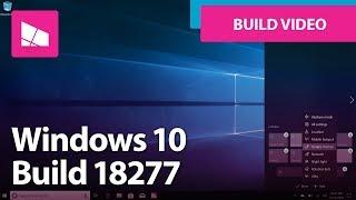 Windows 10 Build 18277 - Action Center, Focus Assist, Windows Search + MORE