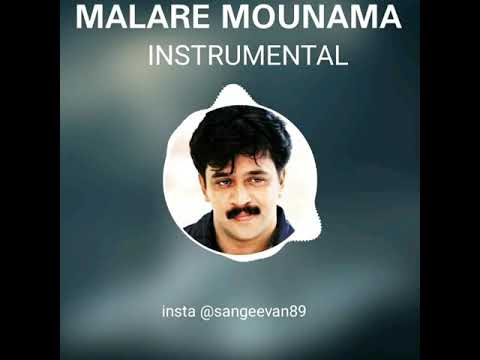 Malare Mounama BGM - Instrumental | Arjun | King of BGM