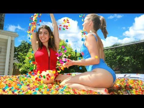 Thumbnail: 12 Million Gummy Bears In Hot Tub!