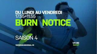 Burn Notice S4 - Bande annonce