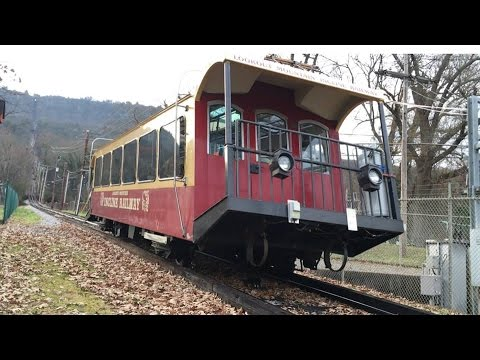 Incline Railway Ride Down Lookout Mountain Tennessee
