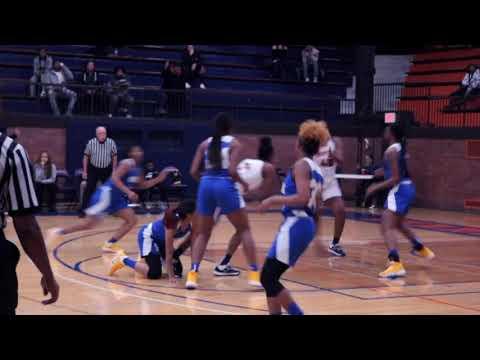 Evanston Township High School Varsity Women's Basketball defeats Simeon High School 54-48