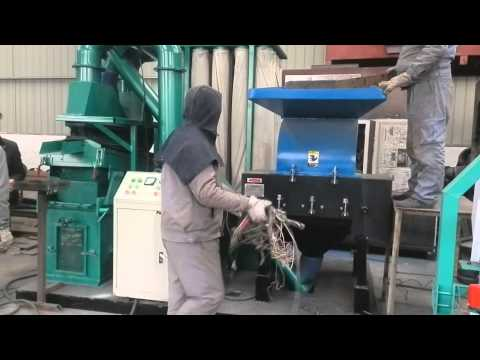 Cable wire recycling machine from Zhengyang Machinery